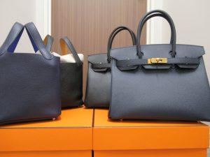 factory price a2c97 42664 エルメスの似ているネイビー系 ブルーインディゴとブルーニュイ ...