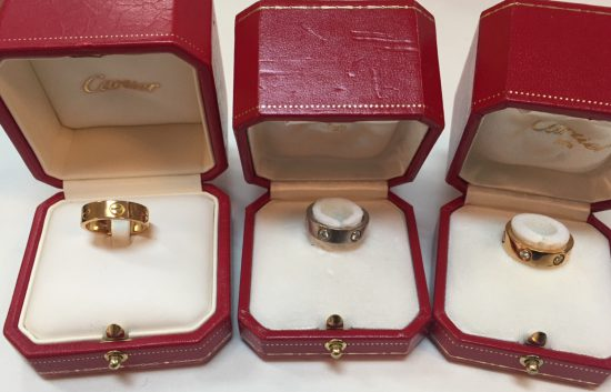 Cartier ラブリング 高価買取 和歌山