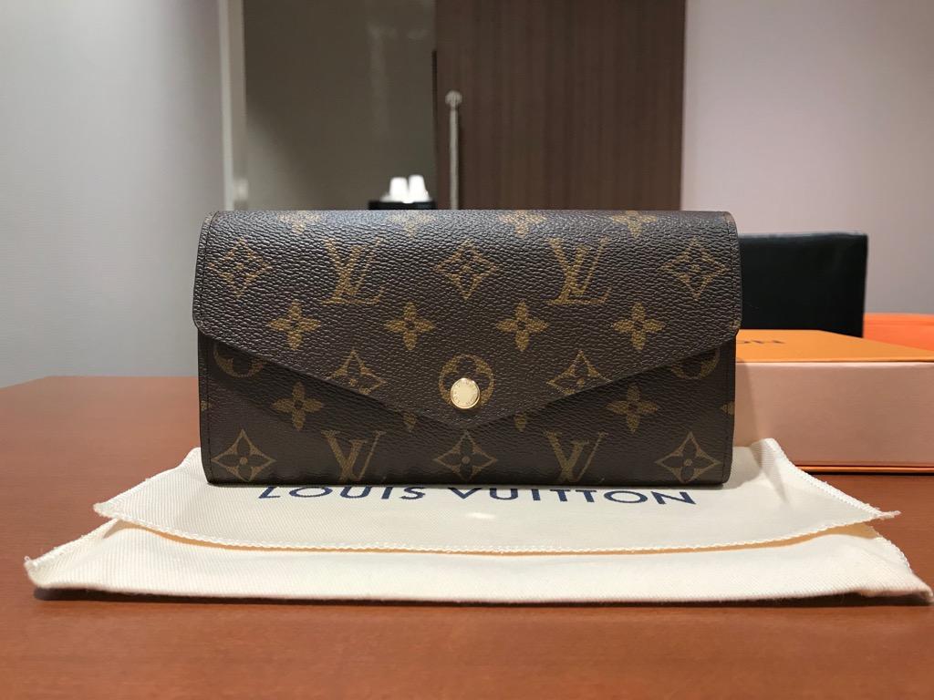 new style 00e06 9ee31 ルイヴィトンの人気二つ折り財布『モノグラム ポルトフォイユ ...
