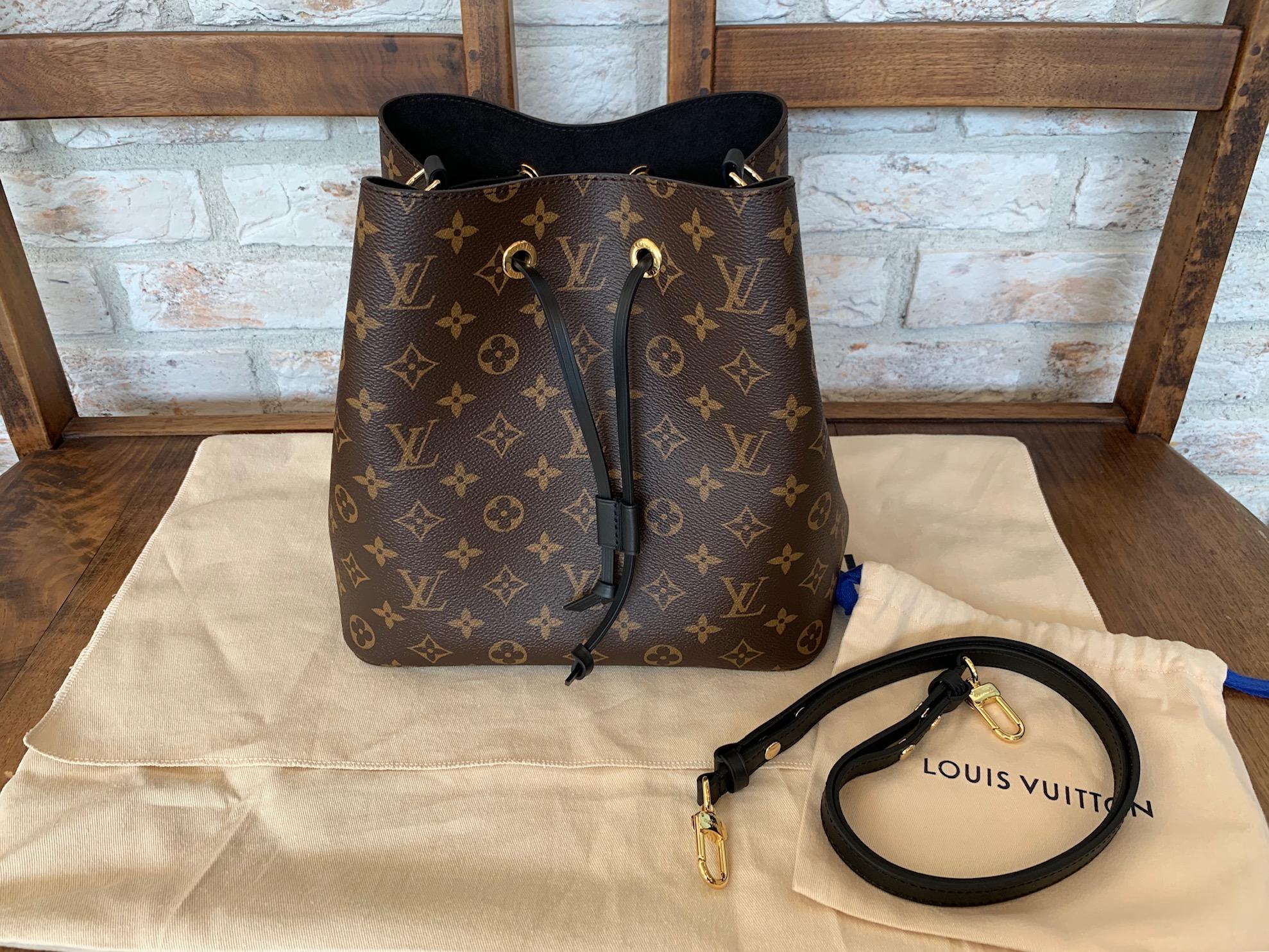 online store 1d061 09c63 LV(ルイヴィトン)の人気商品、巾着バッグ『ネオノエ』高価買取 ...
