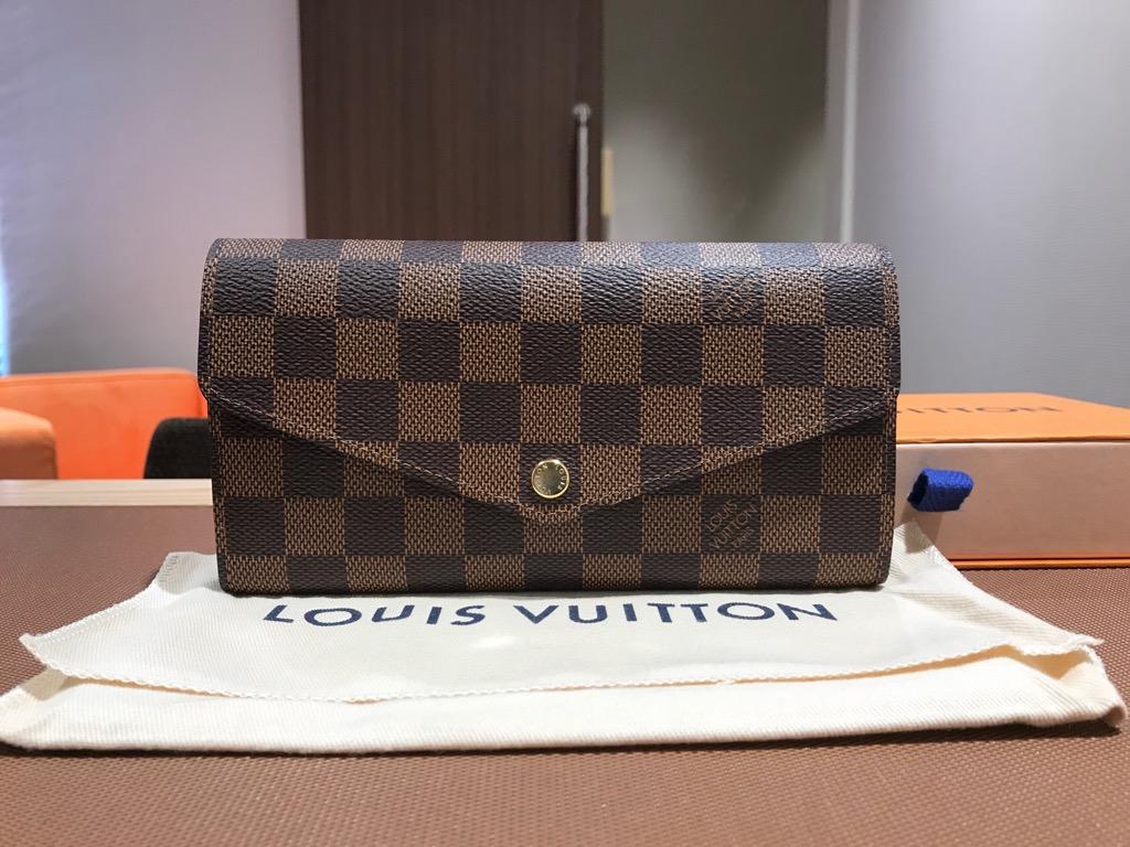 buy popular e553c c62d7 ルイヴィトンの人気長財布『ポルトフォイユサラ 新型』を高価 ...