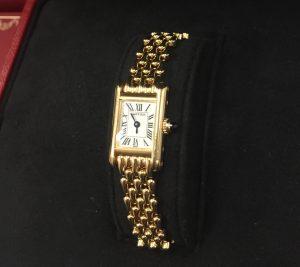 カルティエ 金時計 高価買取 和歌山