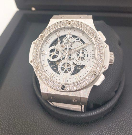 ウブロ ビッグバン アエロバン スケルトン ダイヤモンド 311.SE.2010.RW.1104.JSM12 メンズ